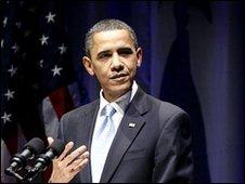 President Obama on 1 April