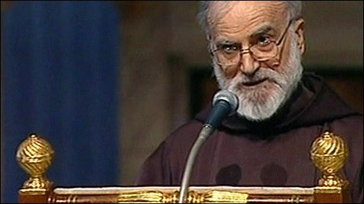 The Rev Raniero Cantalamessa