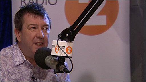 Broadcaster Stuart Maconie
