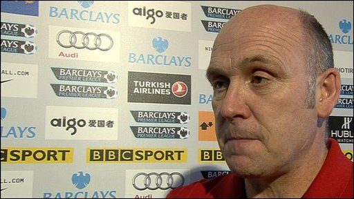 Manchester United assistant manager Mike Phelan
