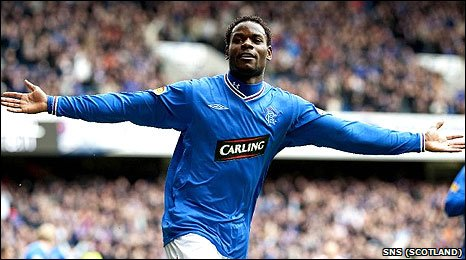 Rangers' match-winner Maurice Edu
