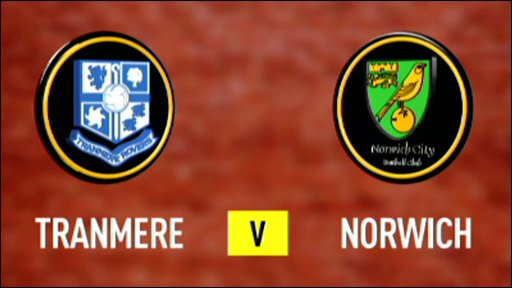 Tranmere 3-1 Norwich (UK users only)