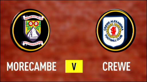 Morecambe v Crewe