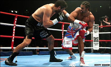 John Ruiz and David Haye