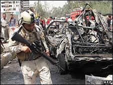Baghdad blast 4 April 2010