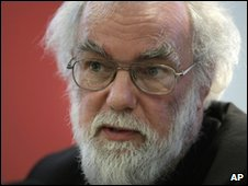 op of Canterbury Rowan Williams