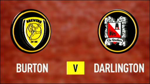Burton Albion 1-2 Darlington