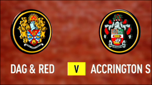Dag & Red 3-1 Accrington Stanley
