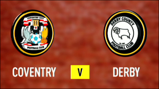 Coventry 0-1 Derby