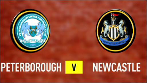 Peterborough 2-3 Newcastle