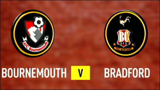 Bournemouth 1-0 Bradford