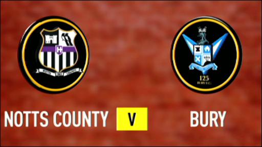 Notts County 5-0 Bury