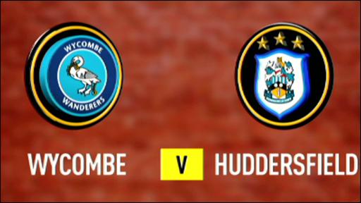Wycombe v Huddersfield