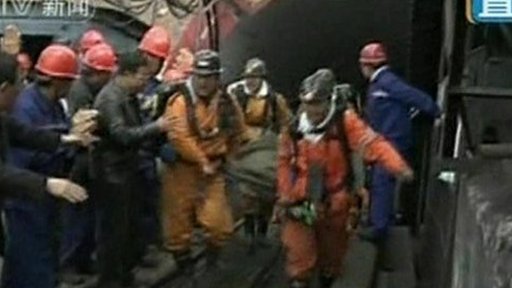 Miners are pulled alive from the China disaster