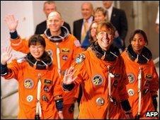 Discovery's crew