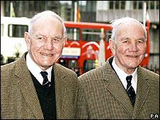 Sir Alec and Eric Bedser