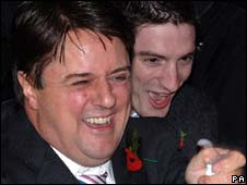 Nick Griffin and Mark Collett
