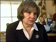Diane Horning, relative of a 9/11 victim