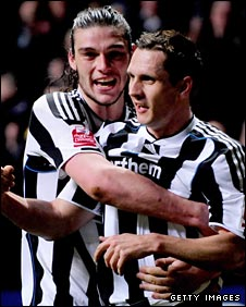 Andy Carroll and Peter Lovenkrands have forged an impressive partnership
