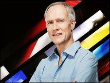 BBC Formula 1 commentator Jonathan Legard