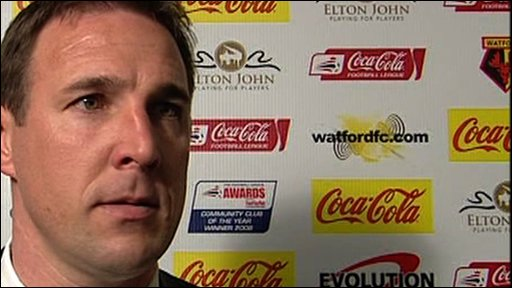 Watford manager Malky Mackay