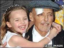 Actor Dennis Hooper and daughter Galen