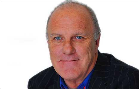 BBC Radio Devon presenter Richard Digance