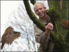 Gareth and owl