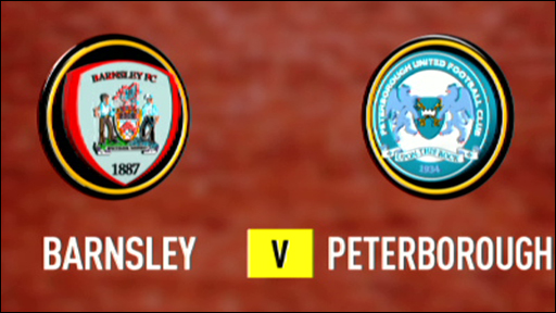 Barnsley 2-2 Peterborough