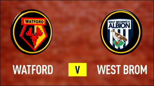 Watford 1-1 West Brom