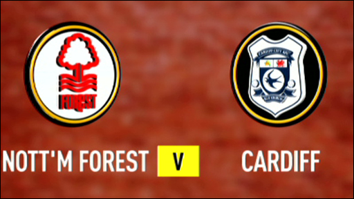 Nottingham Forest 0-0 Cardiff City