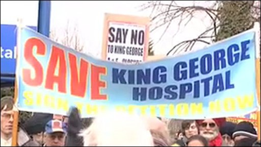 Hospital demonstration