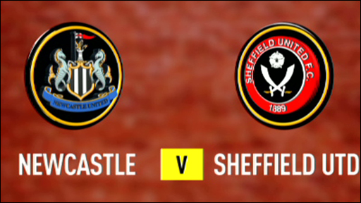 Newcastle 2-1 Sheffield United