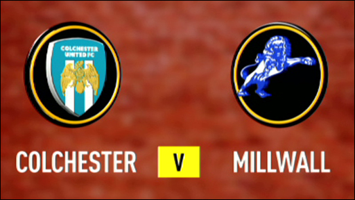 Colchester 1-2 Millwall