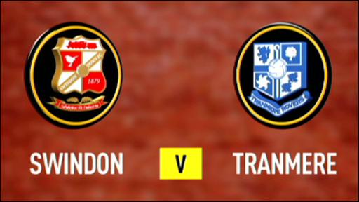 Swindon 3-0 Tranmere