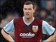 Burnley midfielder Kevin McDonald