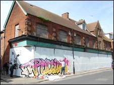Mural on Upper Orwell Street, Ipswich