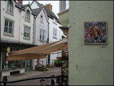 Mosaic in Ruthin