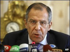 Russian Foreign Miniser Sergey Lavrov, 6 April 2010