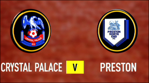Crystal Palace 3-1 Preston