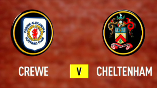 Crewe 1-2 Cheltenham