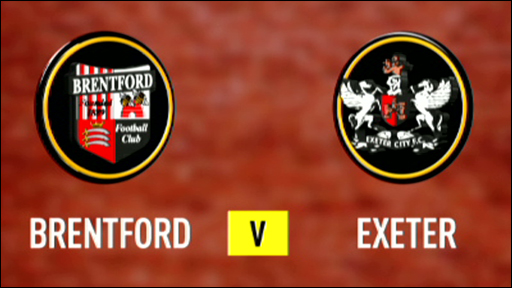 Brentford 0-0 Exeter