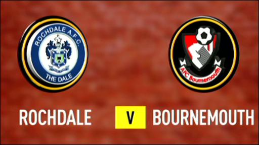 Rochdale 0-0 Bournemouth