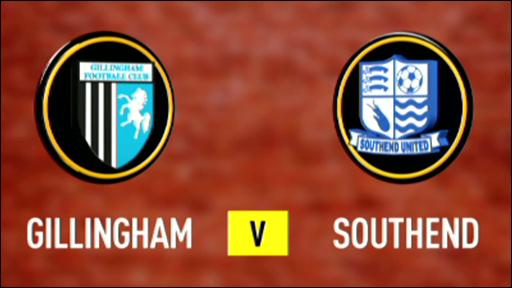 Gillingham 3-0 Southend