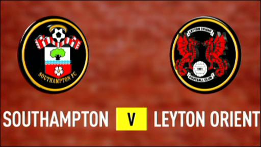 Southampton 2-1 Leyton Orient