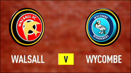 Walsall 2-1 Wycombe