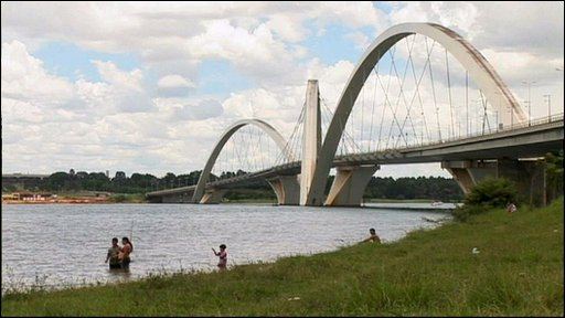 A bridge in Brasilia