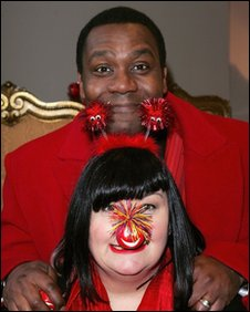 Dawn French and Lenny Henry at Comic Relief Press Launch