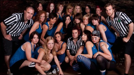 The Windsor Rollergirls team