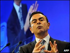 Carlos Ghosn, chief executive of Renault-Nissan